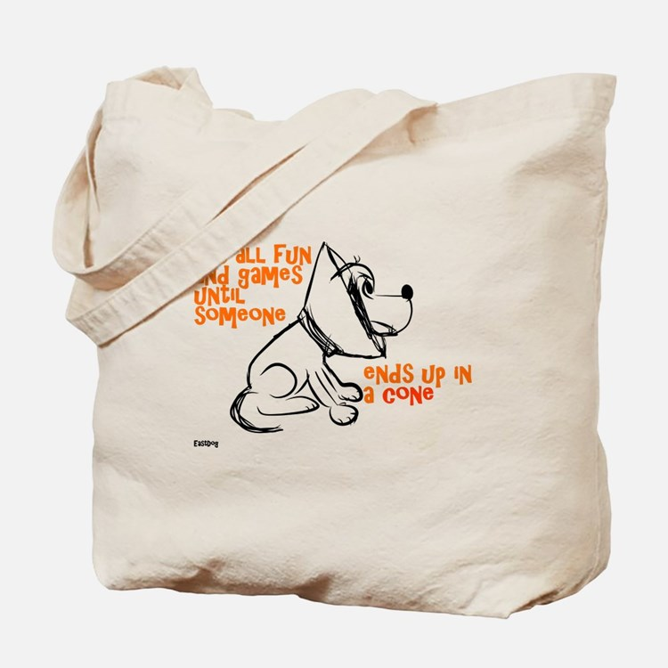 It's all fun and games... Tote Bag