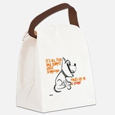It's all fun and games... Canvas Lunch Bag