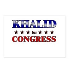 KHALID for congress Postcards (Package of 8)