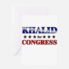 KHALID for congress Greeting Card