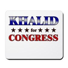 KHALID for congress Mousepad