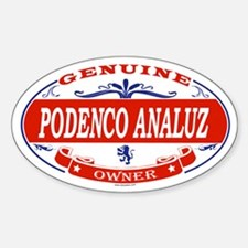 PODENCO ANALUZ Oval Decal