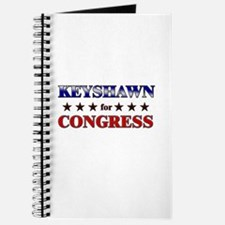 KEYSHAWN for congress Journal