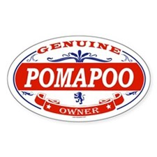 POMAPOO Oval Decal