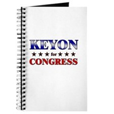 KEYON for congress Journal