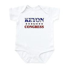 KEYON for congress Infant Bodysuit