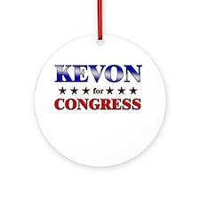 KEVON for congress Ornament (Round)