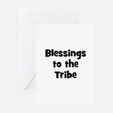 Blessings to the Tribe Greeting Cards (Pk of 10)