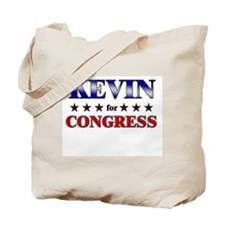 KEVIN for congress Tote Bag