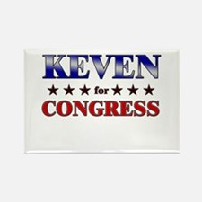 KEVEN for congress Rectangle Magnet