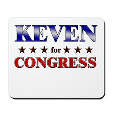 KEVEN for congress Mousepad