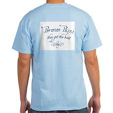 """Four Reins"" T-Shirt ~ blues"