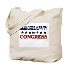 KESHAWN for congress Tote Bag