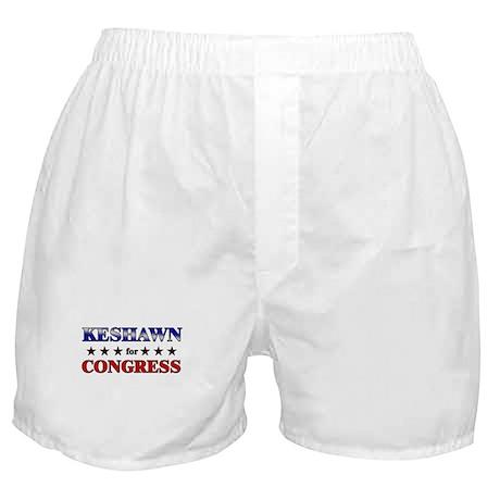 KESHAWN for congress Boxer Shorts