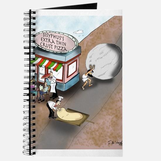 Sisyphus's Extra Thin Crust Pizza Journal