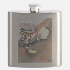 Sisyphus's Extra Thin Crust Pizza Flask