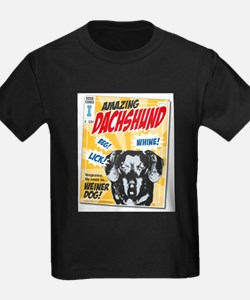 Amazing Dachshund Comics T-Shirt