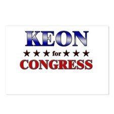 KEON for congress Postcards (Package of 8)