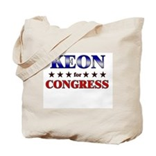 KEON for congress Tote Bag