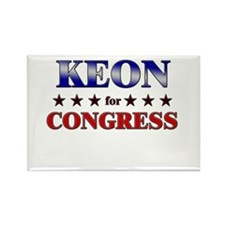 KEON for congress Rectangle Magnet