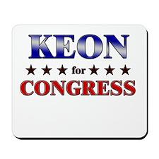 KEON for congress Mousepad
