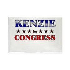 KENZIE for congress Rectangle Magnet