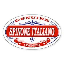 SPINONE ITALIANO Oval Decal