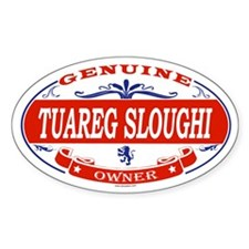 TUAREG SLOUGHI Oval Decal