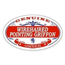 WIREHAIRED POINTING GRIFFON Oval Decal