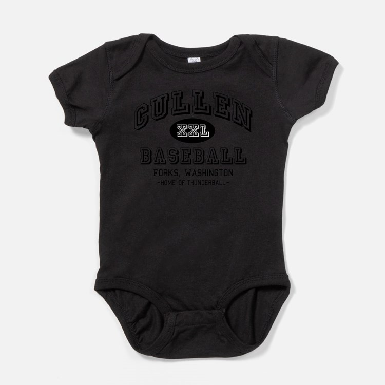 Cute Jacob black Baby Bodysuit