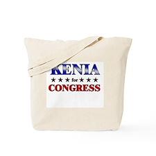 KENIA for congress Tote Bag