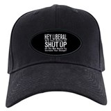 Anti liberal Baseball Cap with Patch