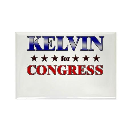 KELVIN for congress Rectangle Magnet (10 pack)