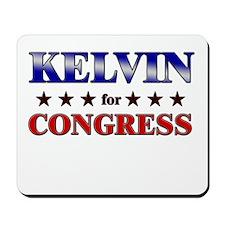 KELVIN for congress Mousepad