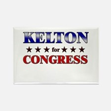 KELTON for congress Rectangle Magnet