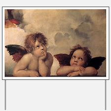 Raphael angels Yard Sign