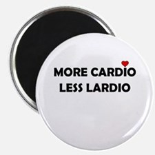 More Cardio Less Lardio Magnets