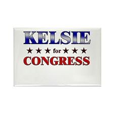 KELSIE for congress Rectangle Magnet