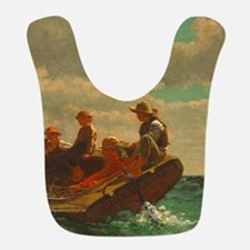 Breezing Up by Winslow Homer Polyester Baby Bib