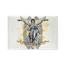 Guardian Angels Rectangle Magnet