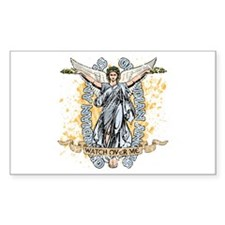 Guardian Angels Rectangle Decal