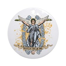 Guardian Angels Ornament (Round)