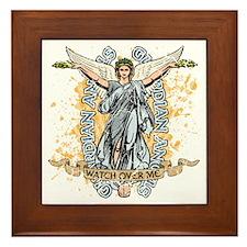 Guardian Angels Framed Tile