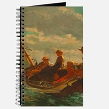 Breezing Up by Winslow Homer Journal