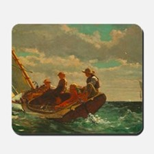 Breezing Up by Winslow Homer Mousepad