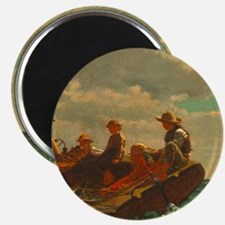 Breezing Up by Winslow Homer Magnets