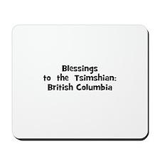 Blessings  to  the  Tsimshian Mousepad