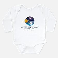 Arecibo Observatory Long Sleeve Infant Bodysuit
