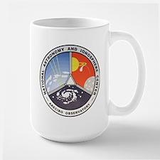 Natl. Astronomy Ctr Logo Large Mug Mugs