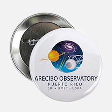 """Arecibo Observatory 2.25"""" Button"""